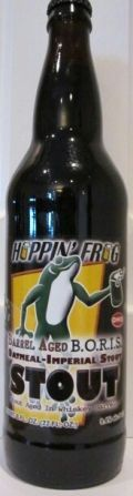 Hoppin Frog Barrel Aged BORIS The Crusher  - Imperial Stout