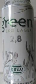 Three Hearts Green Eko Lager 2.8% - Low Alcohol