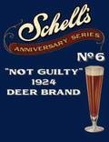 Schell Anniversary Series #6 - Not Guilty 1924 Deer Brand - Pilsener