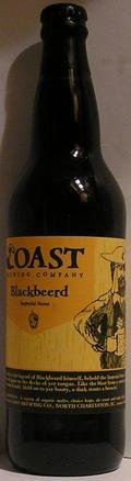 COAST Blackbeerd Imperial Stout Barrel Aged (Jack Daniels Barrel)