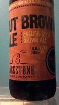 Blackstone Nut Brown Ale