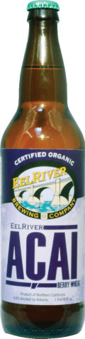 Eel River A�ai Berry Wheat - Fruit Beer