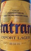 Tatran Export Lager (Le�iak 12�)