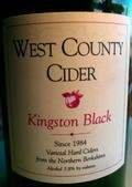 West County Cider Kingston Black