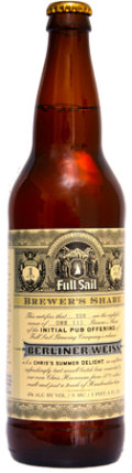 Full Sail Brewers Share Berliner Weiss - Berliner Weisse
