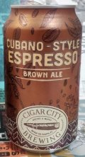 Cigar City Cubano-Style Espresso Brown Ale - Brown Ale