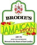 Brodies Jamaican Stout 5.0%