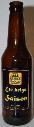 Paddock Wood �t� Belge Saison