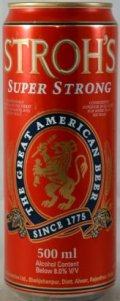 Strohs Super Strong - Malt Liquor