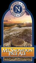 Newmans Mt Snowdon Pale Ale - Bitter