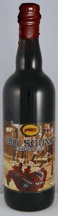 Cigar City Big Sound Scotch Ale - Bourbon Barrel-aged - Scotch Ale