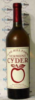 Flag Hill Farm Vermont Still Hard Cyder