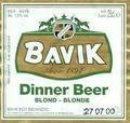 Bavik Dinner Beer Blond
