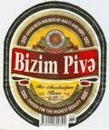 Bizim Pive 4.2% - Pale Lager
