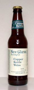 New Glarus Copper Kettle Weiss - Dunkelweizen