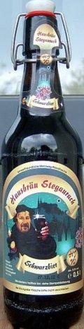 Hausbr�u Stegaurach Schwarzbier - Schwarzbier