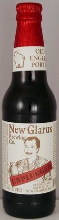 New Glarus Unplugged Old English Porter - Porter