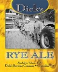 Dicks Rye Ale