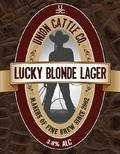 Union Cattle Company Lucky Blonde Lager - Pale Lager