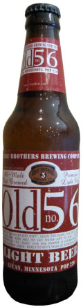 Brau Brothers Old 56 Light Beer