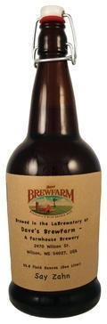 Daves BrewFarm Say Zahn - Saison
