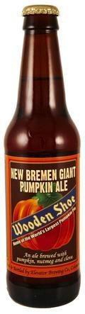 Wooden Shoe New Bremen Giant Pumpkin Ale - Spice/Herb/Vegetable