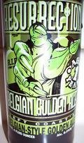 Left Coast�s Resurrection Belgian Golden Ale