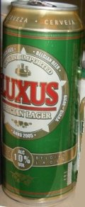 Luxus Belgian Lager 10% - Strong Pale Lager/Imperial Pils