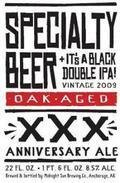 Midnight Sun Specialty Imports 30th Anniversary Black Double IPA Oak Aged