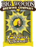 Big Woods Six Foot Blonde - Golden Ale/Blond Ale