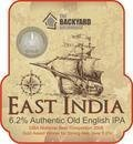 Backyard East India IPA - India Pale Ale (IPA)
