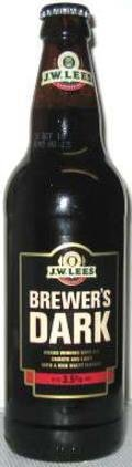 J.W. Lees Brewers Dark (Bottle) - Mild Ale