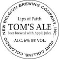 New Belgium Lips of Faith - Tom�s Beer - Wheat Ale