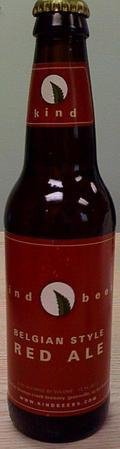Kind Beers Belgian Red Ale