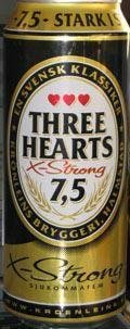 Three Hearts Extra Strong - Strong Pale Lager/Imperial Pils