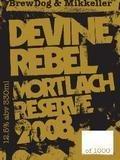 BrewDog / Mikkeller Devine Rebel Mortlach Reserve 2008 - Barley Wine