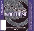 Cricket Hill Brewmaster�s Reserve #01 Cricket�s Nocturne