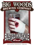 Big Woods (Quaff On!) Busted Knuckle Red