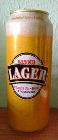 Baron Lager - Pale Lager