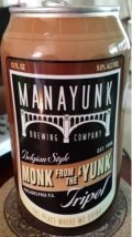 Manayunk Monk from the Yunk - Abbey Tripel