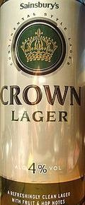 Sainsbury�s Crown Lager - Pale Lager