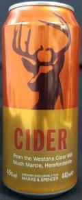 Marks & Spencer Cider