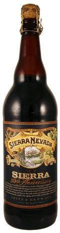 Sierra Nevada 30th Anniversary Fritz & Ken�s Ale - Imperial Stout
