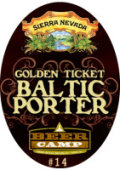 Sierra Nevada Beer Camp Golden Ticket Baltic Porter - Baltic Porter