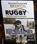 Warwickshire Rugby Ball Stitcher - Bitter