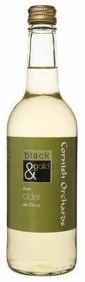 Cornish Orchards Black & Gold Pear Cider (Bottle) - Perry