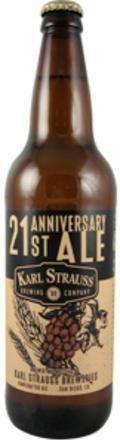 Karl Strauss 21st Anniversary Ale