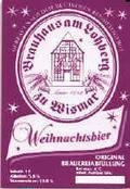 Wismarer Weihnachtsbier   - Strong Pale Lager/Imperial Pils
