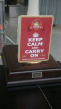 St Georges Keep Calm and Carry On
