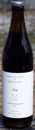 Maine Beer Zoe - Amber Ale